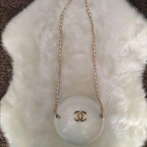 Chanel pearl bag